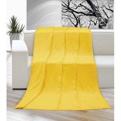 Deka micro - žlutá