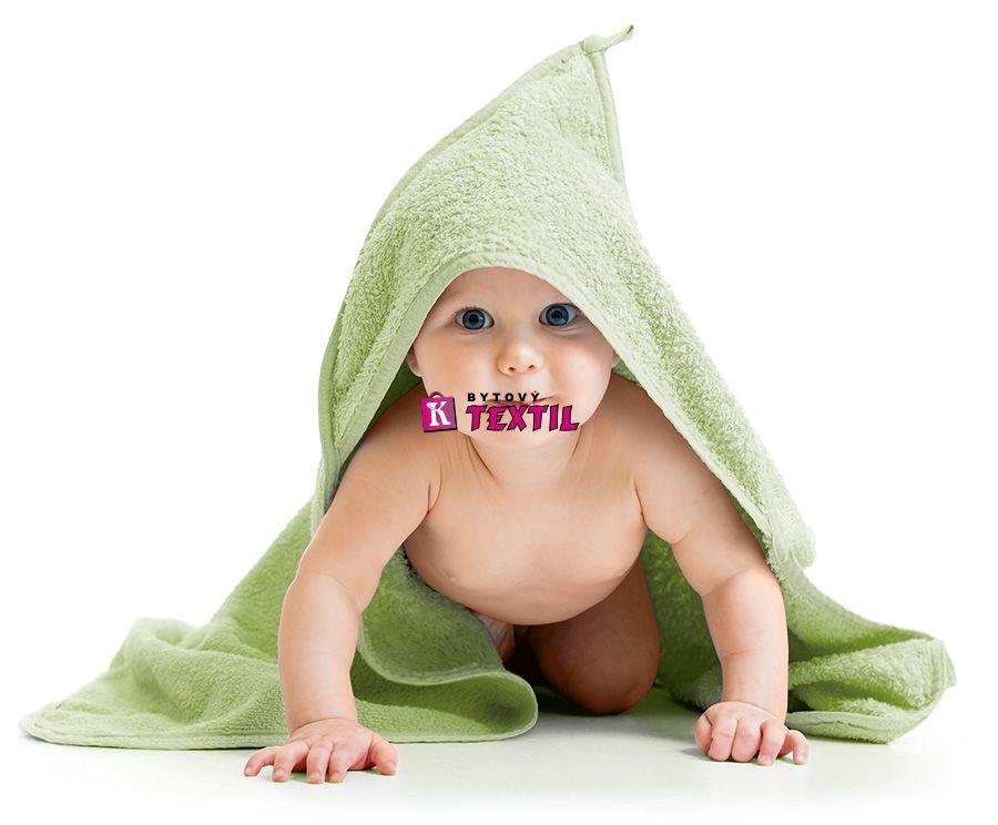 Osuška dětská s kapuckou