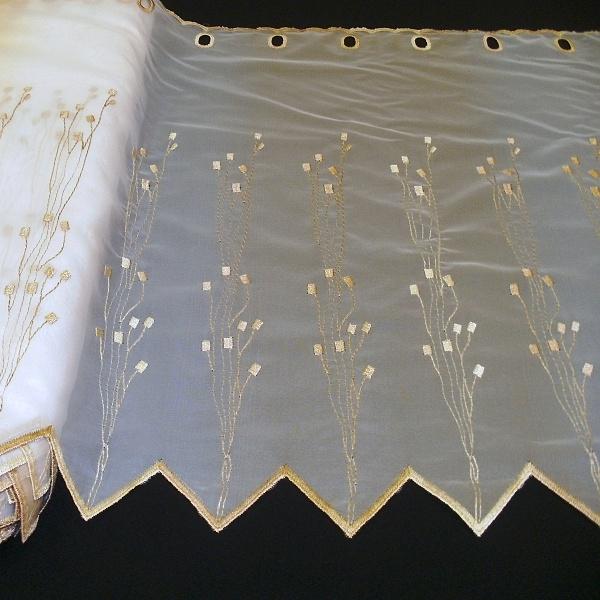 Záclona - výška 60 cm.